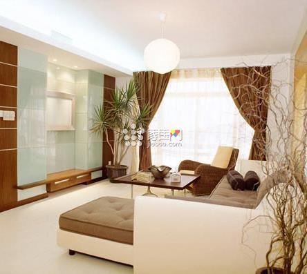 客厅窗帘怎么挂?